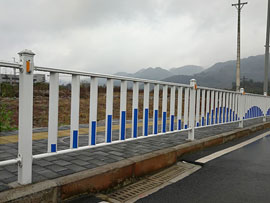 重庆大渡口九龙园区道路护栏